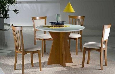 Sala de Jantar 1,10 x 1,10 - ( 04 Cadeiras )