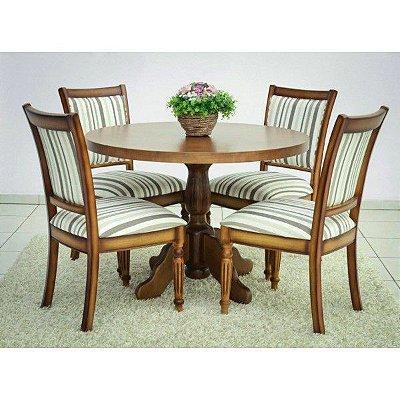 Sala de Jantar 1,30 x 1,30 - ( 06 Cadeiras )