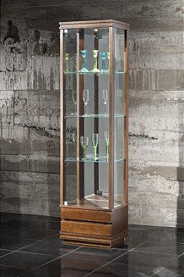 Cristaleira Flávio Móveis  50 x 38 x 1,90