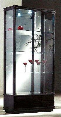 Cristaleira Com luz 88 x 38 x 1,90
