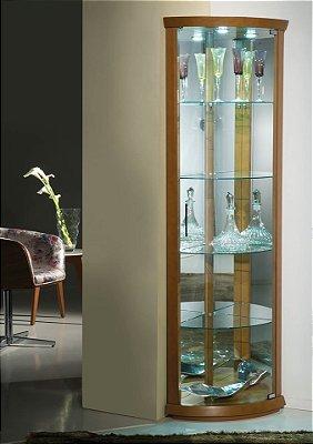 Cristaleira Flávio Móveis  43 x 43 x 1,83