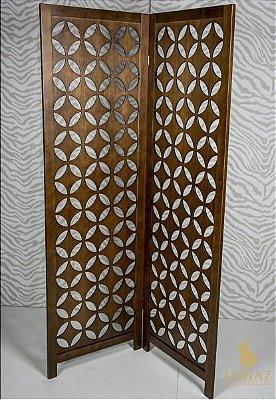 Biombo Estrela  Flávio Móveis Gramado 1,85 x 1,16