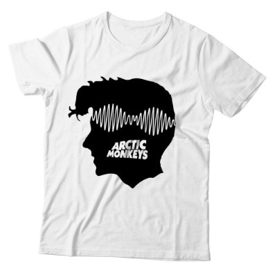 Camiseta Arctic Monkeys -AM