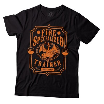 Camiseta Pokemon - Fire Specialized