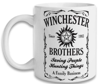 Caneca Supernatural - Winchester Brothers