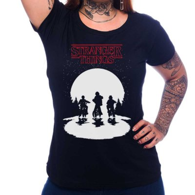 Camiseta Feminina Stranger Things