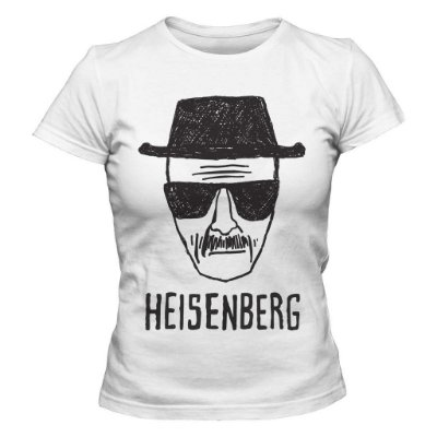 Camiseta Feminina Breaking Bad - Heisenberg