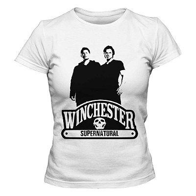 Camiseta Feminina Supernatural - Winchester