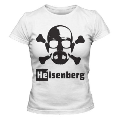 Camiseta Feminina Breaking Bad Heisenberg  Danger