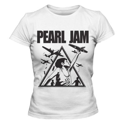 Camiseta Feminina Pearl Jam - No Code
