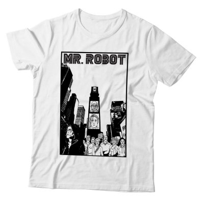 Camiseta Mr. Robot - City