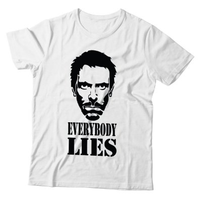 Camiseta Dr. House - Everybory Lies
