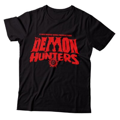 Camiseta Supernatural - Demon Hunters