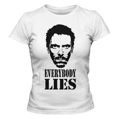 Camiseta Feminina Dr. House - Everybory Lies
