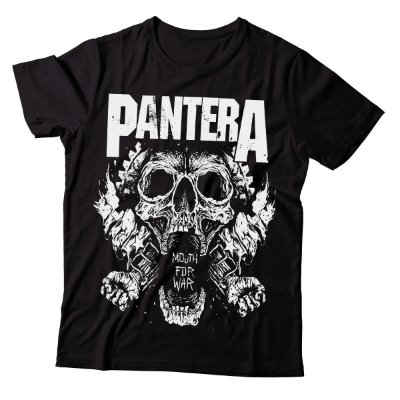 Camiseta Pantera - Mouth For War