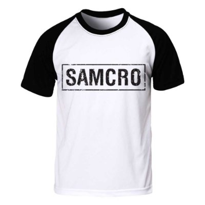 Camiseta Raglan Sons of Anarchy - SAMCRO