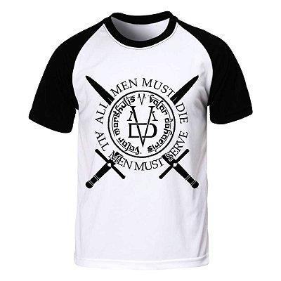 Camiseta Raglan Game of Thrones - Valar Morghulis