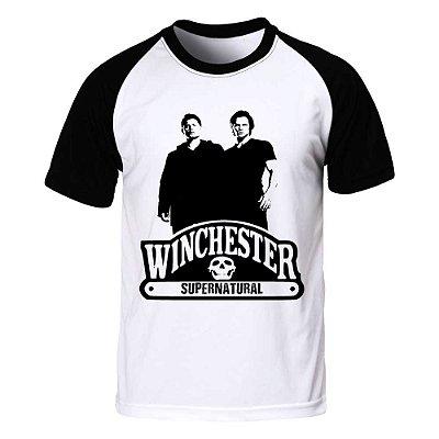 Camiseta Raglan Supernatural - Winchester