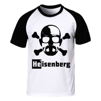 Camiseta Raglan Breaking Bad - Heisenberg Danger