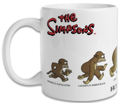 Caneca Os Simpsons - Homersapien
