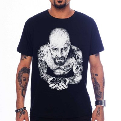 Camiseta Breaking Bad - Heisenberg Tattoo