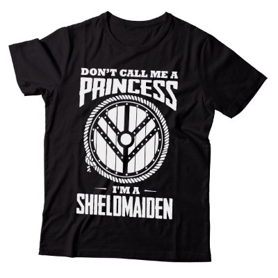 Camiseta Vikings - Don't Princess