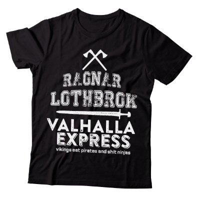 Camiseta Vikings - Valhalla Express