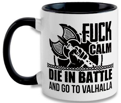 Caneca Vikings - Go To Valhalla