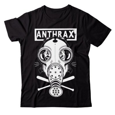 Camiseta Anthrax - Mask