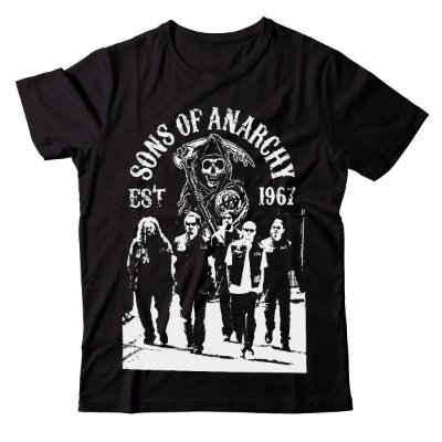 Camiseta Sons of Anarchy - Crew