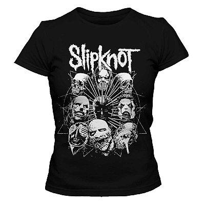 Camiseta Feminina  Slipknot