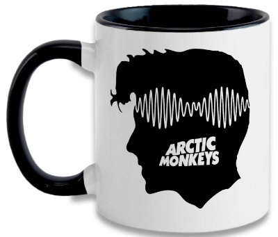 Caneca Arctic Monkeys -AM