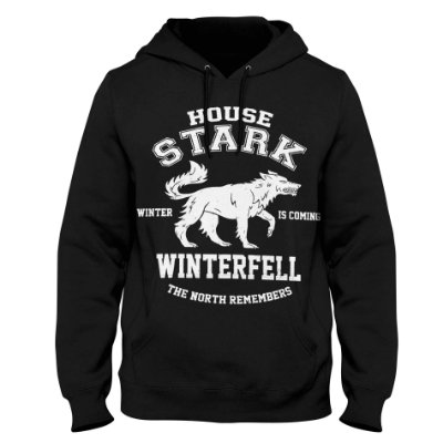 Moletom Game of Thrones - House Stark Winterfell