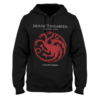 Moletom Game of Thrones - House Targaryen