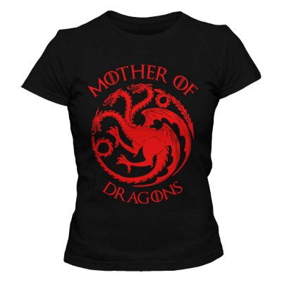 Camiseta Feminina Game of Thrones - Mother of Dragons 2