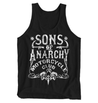 Regata Masculina Sons of Anarchy - Motorcycle Club