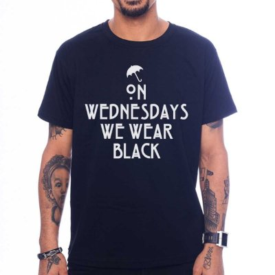 Camiseta American Horror Story - We Wear Black