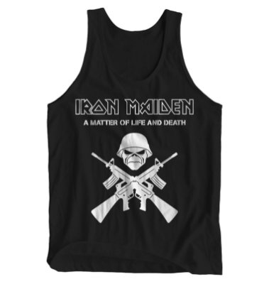 Regata Masculina Iron Maiden