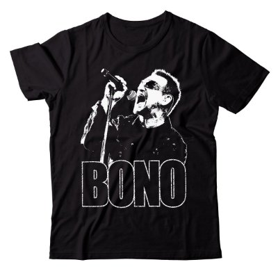 Camiseta U2 - Bono
