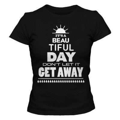 Camiseta Feminina U2 - Beautiful Day