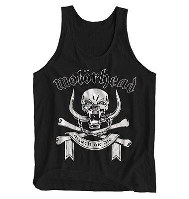 Regata Masculina Motörhead - March or Die