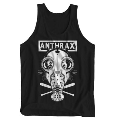 Regata Masculina Anthrax - Mask