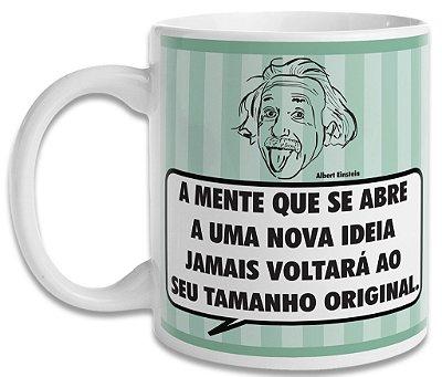 Caneca Albert Einstein