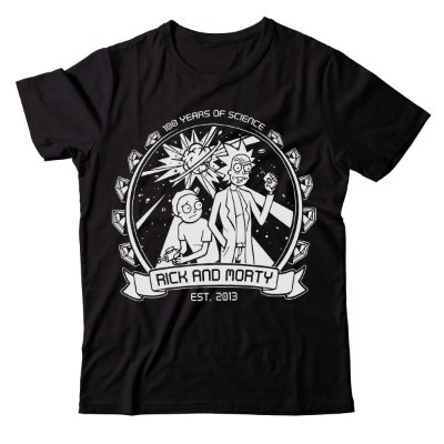Camiseta Rick and Morty - Years of Science