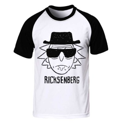 Camiseta Raglan Rick and Morty - Ricksenberg