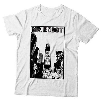 Camiseta Masculina Mr. Robot - City - BKF