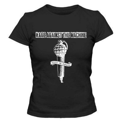 Camiseta Feminina Rage Against The Machine - BKF