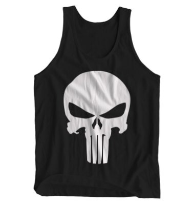 Regata Masculina O Justiceiro - Punisher