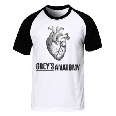 Camiseta Raglan Grey's Anatomy