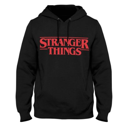 Moletom Stranger Things - Logo